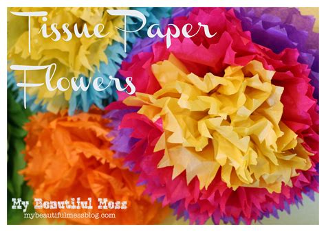 How To Make Mexican Tissue Paper Flowers Cool Ideas