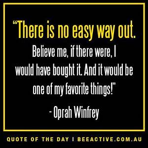 Motivational we... Oprah Winfrey Weight Quotes