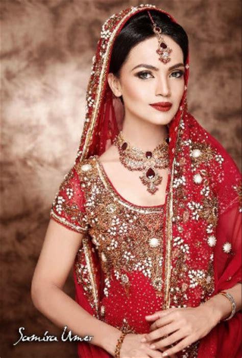 beautiful indian  pakistani bridal pictures