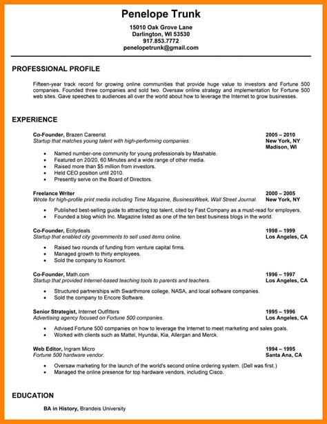 show    write  resume writing  memo