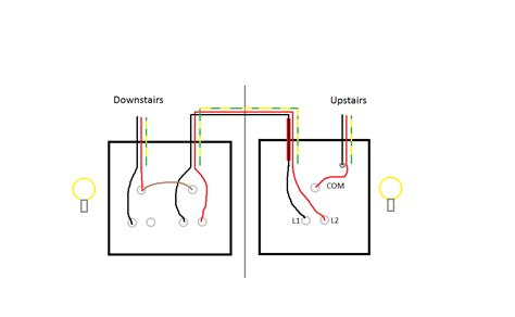Two Way Light Switching Explained Youtube Within Wiring