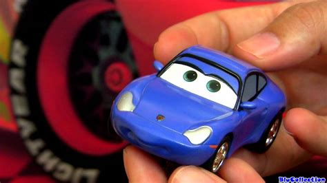 cars sally toy sally carrera go cars 2 slot car disney pixar toy review