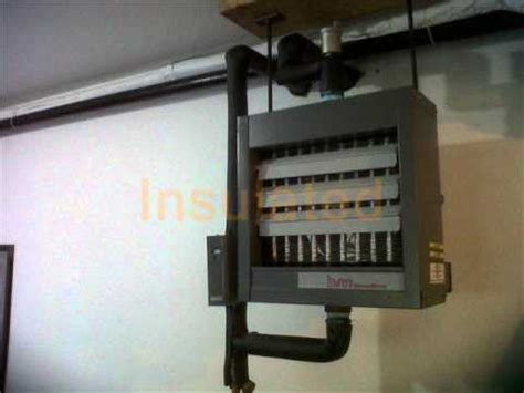 hydronic garage heater edmonton heating company hydronic unit heater install