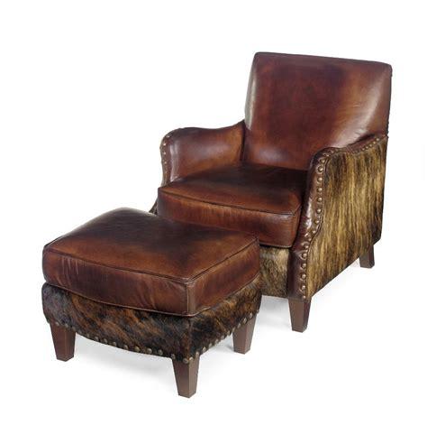 Cowhide Chair And Ottoman by Cowhide Chair Western Chair Cowhide Ottoman Anteks