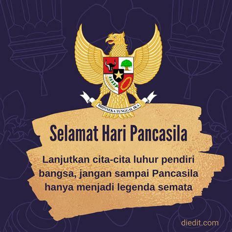 Hari lahir pancasila yang jatuh pada hari senin, tanggal 1 juni 2021 ini. 35 Ucapan - Gambar Selamat Memperingati Hari Lahir Pancasila ~ diedit.com