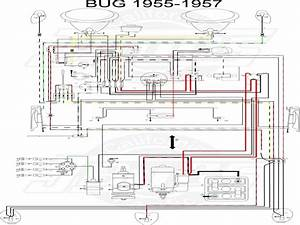 Wiring Diagram Vw Beetle Sedan And Convertible 1961 1965