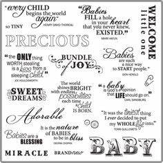 MSE My Sentimen... Baby Shop Quotes