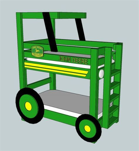 Tractor Bunk Bed  The Whoot