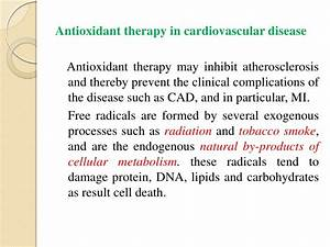 Antioxidants and their therapeutic implications