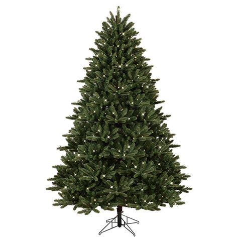 fake tree with lights ge 7 5 ft pre lit led just cut frasier fir artificial