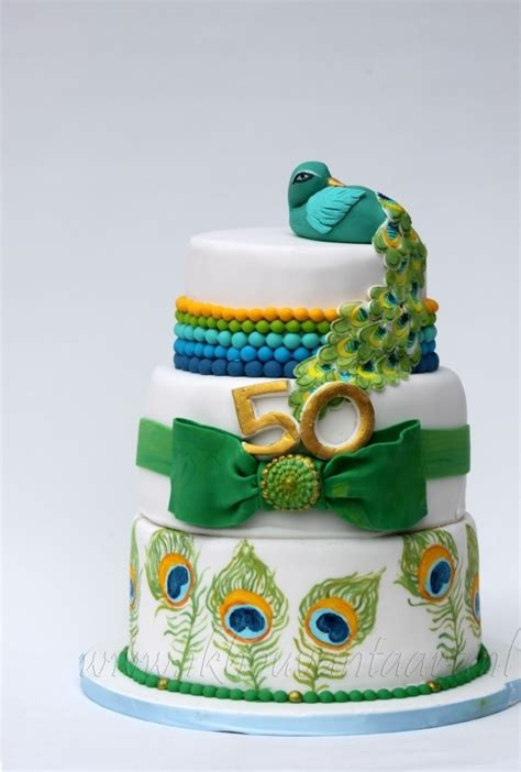 images  peacock cake  pinterest bakeries