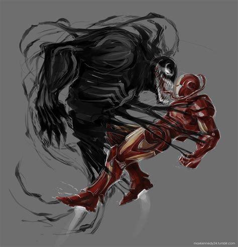 iron man vs venom by maxkennedy on deviantart