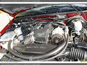 2 2 Liter Ohv 8v 4 Cylinder Engine For The 2003 Chevrolet