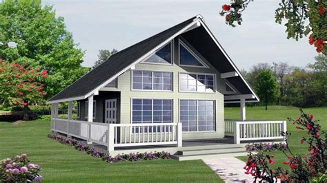 small vacation house plans  loft  small house