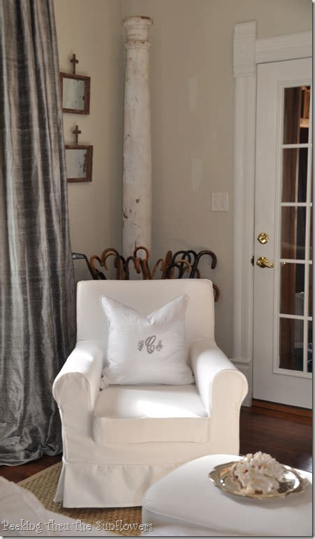 How To Make Living Room Pillows by Jennylund Chair From Ikea With Monogram Pillow Would