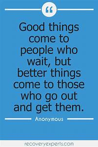 """Motivational Quotes:"""" Good things come to people who wait ..."""