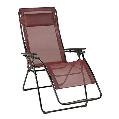 lafuma large lfm3082 futura xl reclining chair ruby