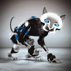 goodstuffs cyber world robot cat