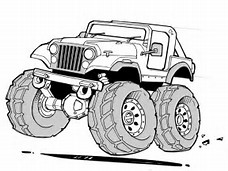 HD Wallpapers Jeep Coloring Pages To Print