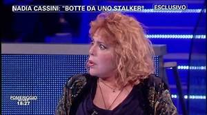 Nadia Cassini e l'intervista con la voce alterata a ...