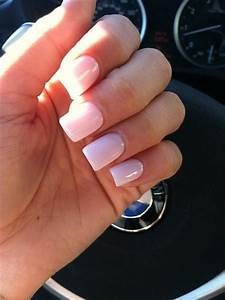 Acrylic nails #light #pink   Nail$   Pinterest   The shape ...
