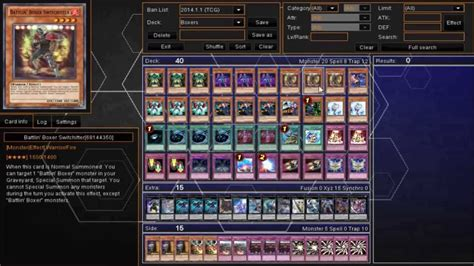 yugioh battlin boxer deck profile jan 1 2014 youtube
