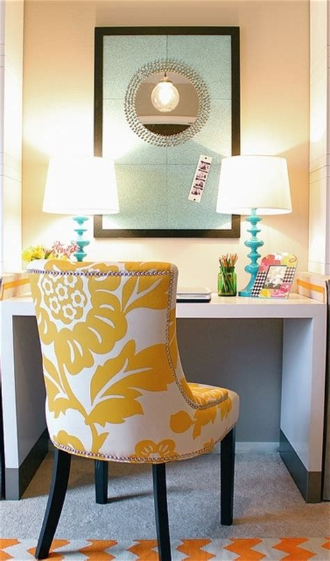Yellow Office Desk by Southern Royalty Office Space