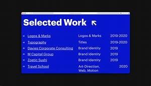 2020 Interactive Resume Personal Portfolio Website On