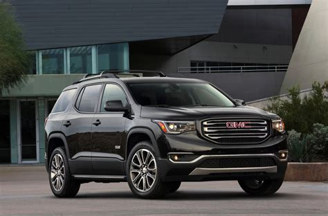 gmc acadia overview  news wheel