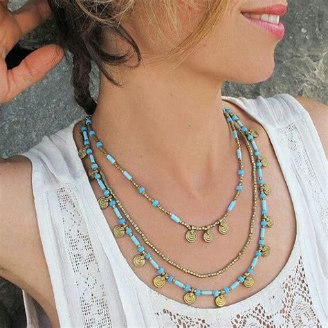 ways  wear boho style jewelry