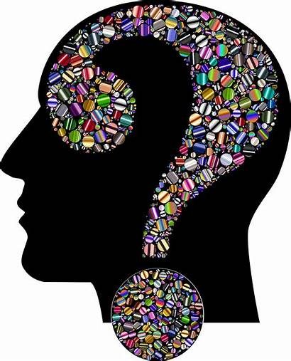 Clipart Head Colorful Psychology Psychologist Clinical Mental