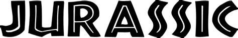 jurassic font