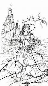 Coloring Carol Craig Archer Adult Fairies Friday Archers Fairy Printable Fairyland Dark Birthday Fantasy Colouring Already Xx Paulson Stinky Lolly sketch template