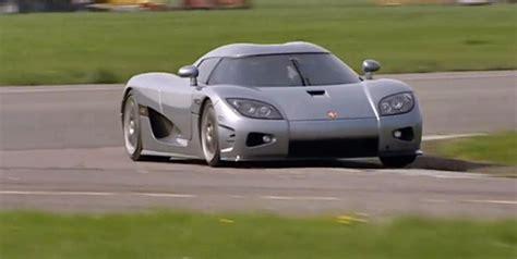 Top Gear S Stig Crashes Koenigsegg Cxx Trying To Beat