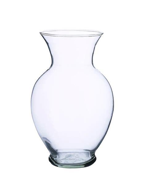 glass vase flower vases recycled glass 8 5in