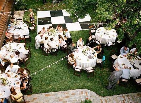 Small Backyard Wedding Best Photos  Cute Wedding Ideas