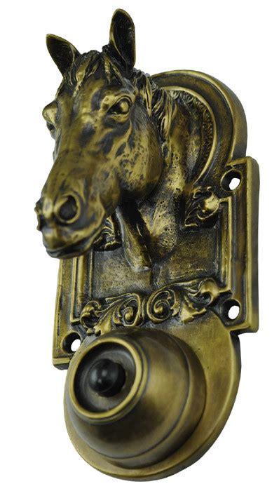 horse head doorbell zlw bl