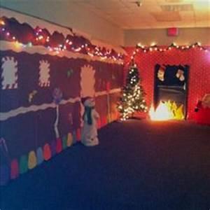 Christmas door covers on Pinterest