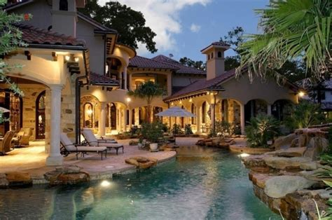 Mediterranean Style Mansion  59 Gorgeous Dream Houses For…