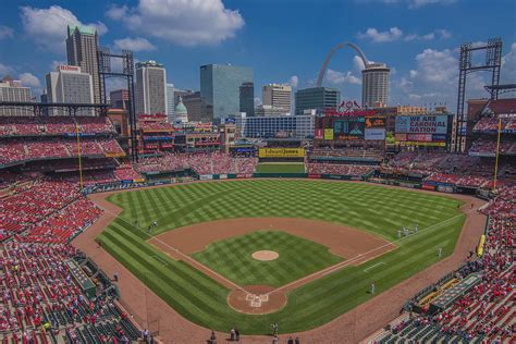 ballpark cardinal nation busch stadum st louis cardinals april 2015 2 photograph by