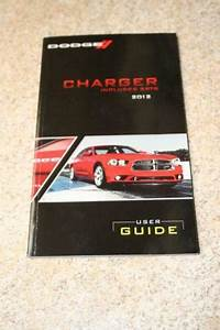 Dodge Charger Manual