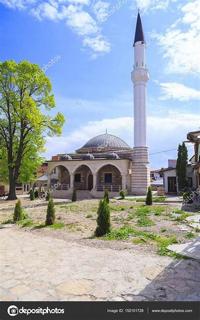 Skopje Mosque Arasta Editorial Enginkorkmaz Depositphotos