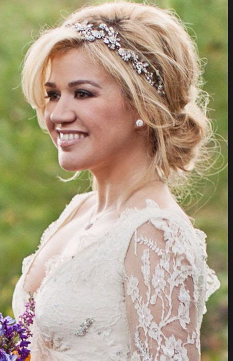 Love her hair Love the idea of the embellished band