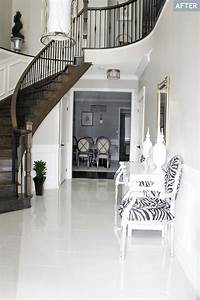 Am, Dolce, Vita, Foyer, Tile, And, Rug
