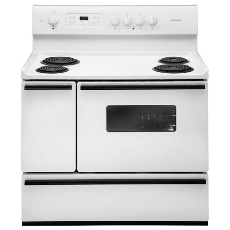 ge slide in gas range reviews frigidaire ffef4015lw 5 4 cu ft 40 quot oven electric
