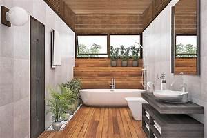 Holz Für Badezimmer : badausstellung in der bauarena ~ Frokenaadalensverden.com Haus und Dekorationen