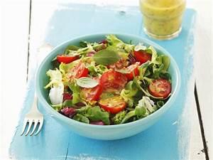 Honig Senf Sauce Salat : gr ner salat mit tomaten und senf honig vinaigrette rezept ~ Watch28wear.com Haus und Dekorationen