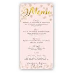 menu de mariage original menu mariage original