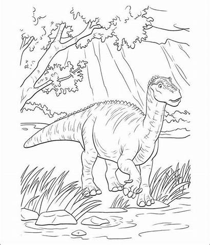 Dinosaur Coloring Pages Pdf Dinosaurs Template Printable