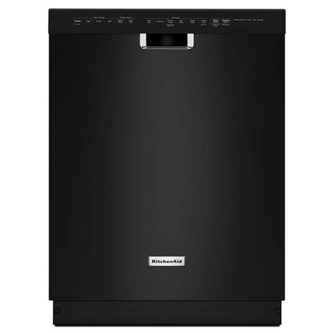 Kitchenaid Kdfe204ebl 24 In Front Control Dishwasher In
